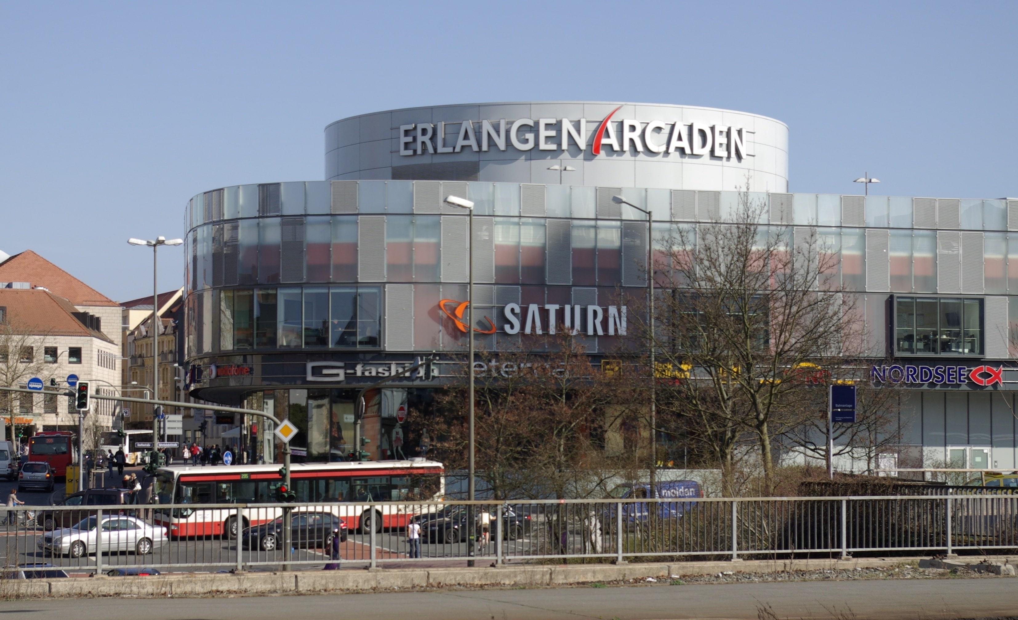 Marktplatz Arcarden Erlangen