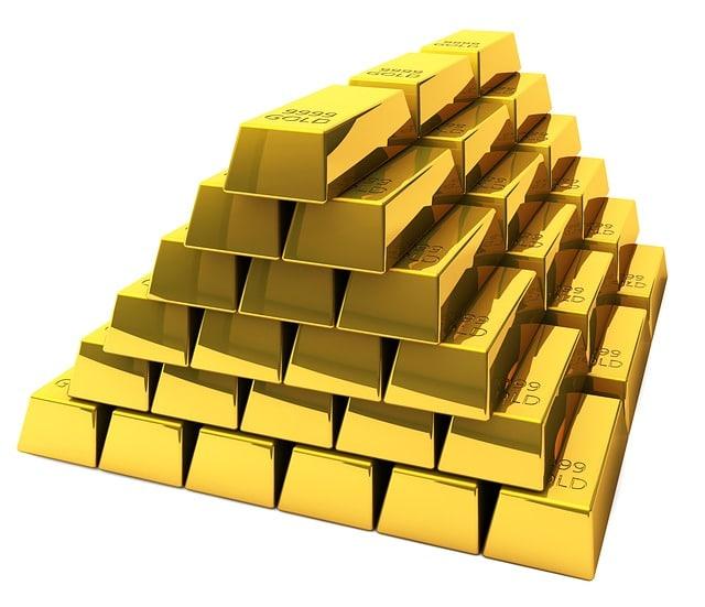 Goldbarren Schließanlage