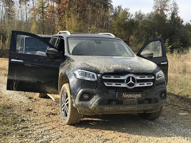 PKW Öffnung Mercedes Benz