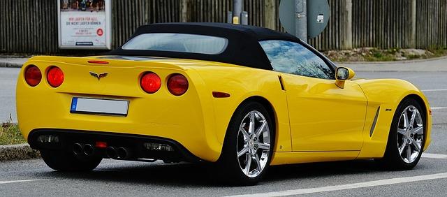 Corvette Öffnung