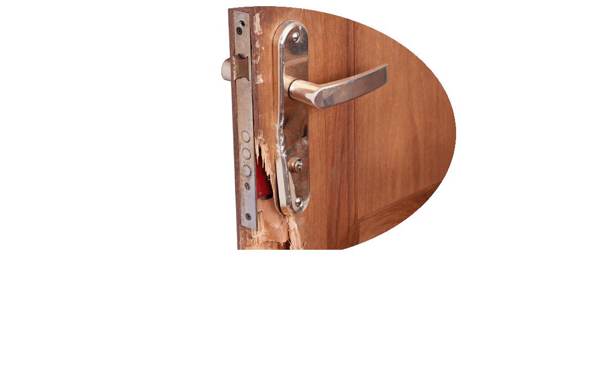 beschädigte Türe Reparaturen Nürnberg