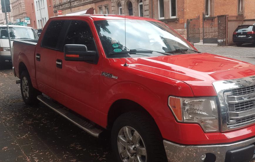 Ford F150 Truck Öffnung