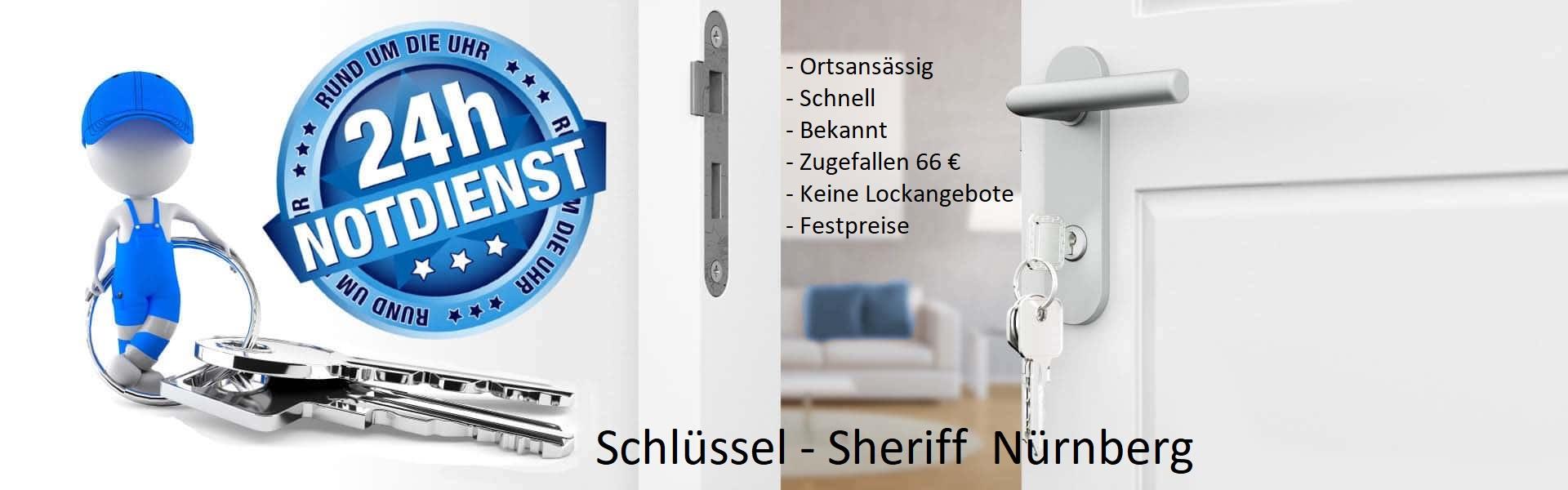 Schlüsseldienst Nürnberg Schluesselnotdienst günstig